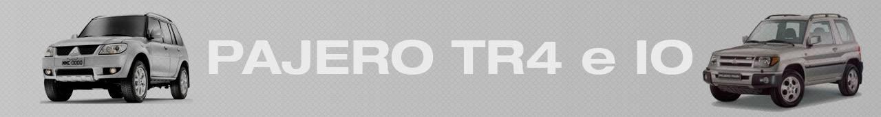 Pajero TR4 e IO