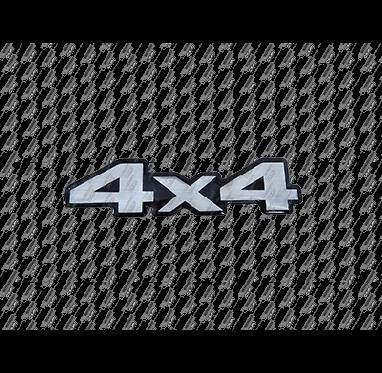 ADESIVO - 4X4 (PRATA)