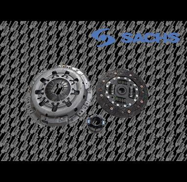 KIT EMBREAGEM COMPLETO - L200 TRITON 3.2 TODOS OS MODELOS/ PAJERO DAKAR 3.2 TODOS OS MODELOS - SACHS