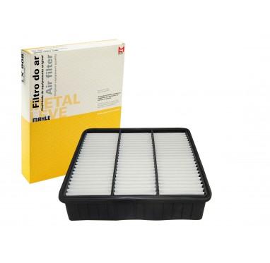 FILTRO AR - PAJERO TR4 2.0 16V TDS MODELOS (FLEX OU GAS)/ PAJERO IO 18.16V TDS MODELOS - MAHLE METAL LEVE